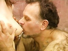 Mature elderly wooly tutor porks young tasty babe