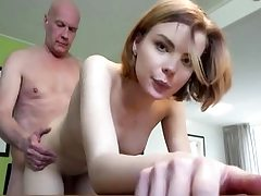Youthful babe gets pulverized stiff by elder boy